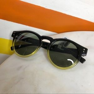 NEW Free People Dixie two tone sunglasses